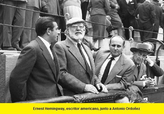 Ernest Hemingway en los toros