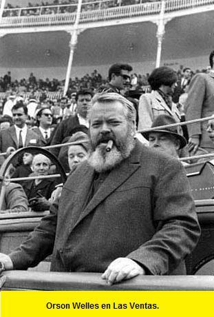 Orson Welles en Las Ventas