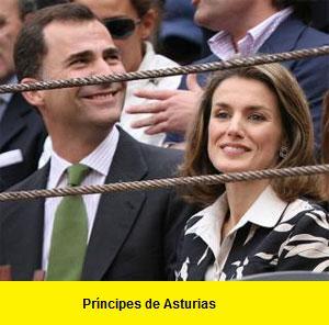 principes de asturias en los toros